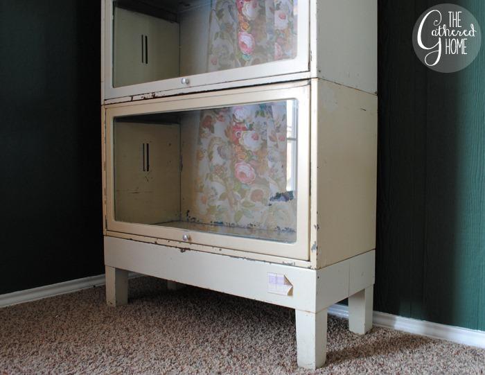 Vintage Metal Barrister Bookcase