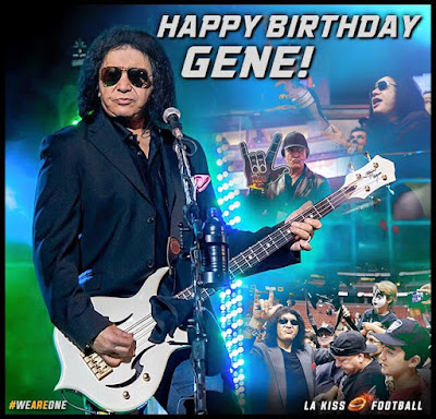 Happy birthday to the one and only Gene Simmons