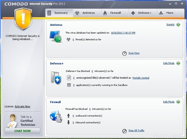 Comodo Internet Security Pro 2012 Free 1 Year License