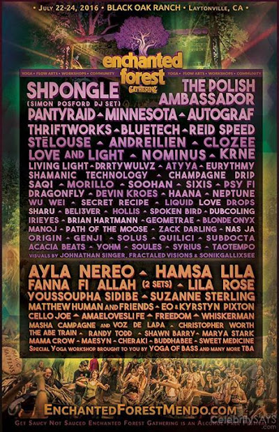Making my way to Northern California in a few days See you soon enchanted forest gathering