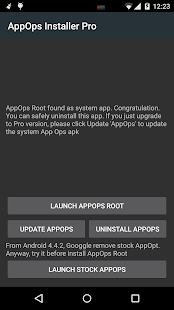 App Ops [Root]- screenshot thumbnail