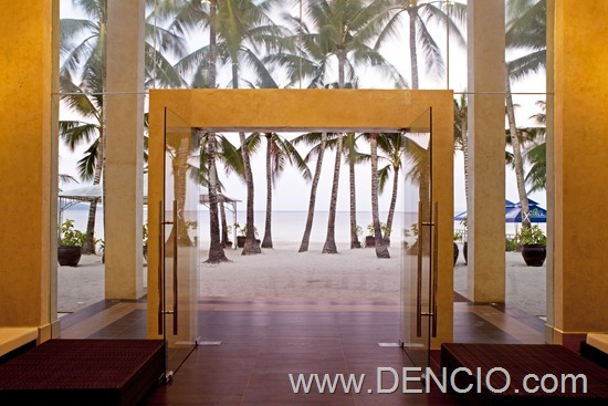 The District Boracay - Beach View from the Lobby