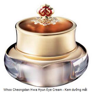 Whoo Cheongidan Hwa Hyun Eye Cream - Kem dưỡng mắt giúp tái sinh