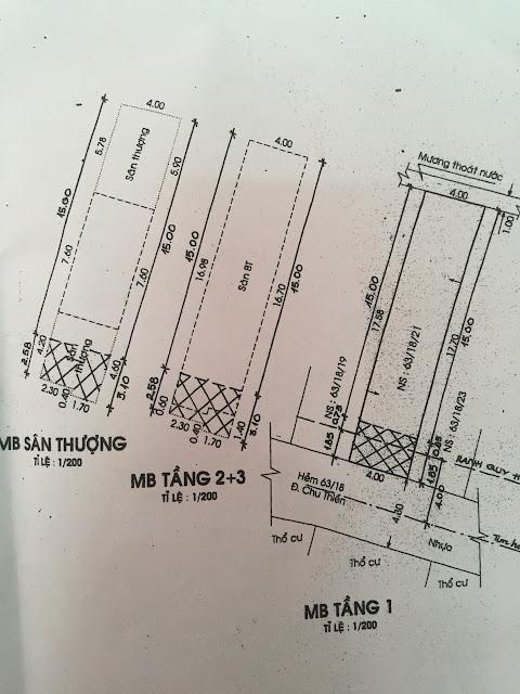 Bán nhà quận Tân Phú - Nhà 1 trệt 2 lầu ngay chợ Cây Keo 08
