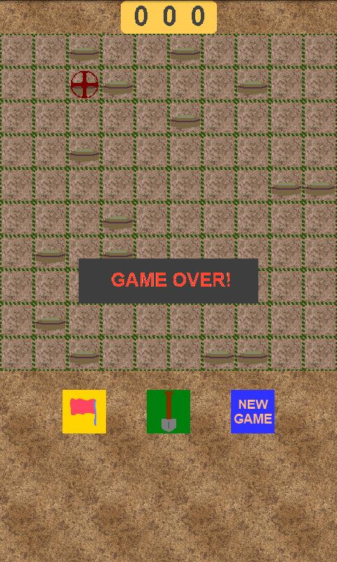 Mine Evader (minesweeper)- screenshot