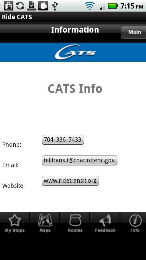 Ride CATS - screenshot
