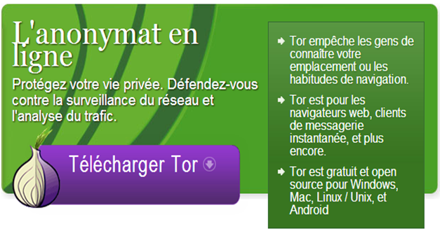Télécharger Tor Browser 10.0.8 Final en Français pour Windows 64 Bits