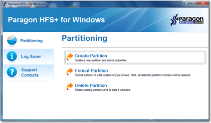 HFS for Windows – Mac File System Driver for Windows