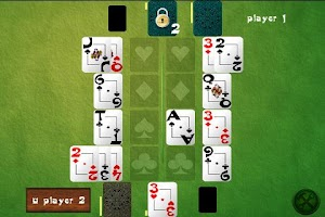 Screenshot of Klondike Battle Lite
