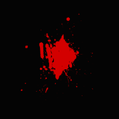Blood Spatter Live Wallpaper