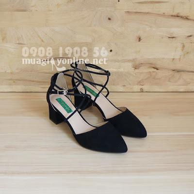Về lại đủ size 35 42 2 màu đen xám mẫu giày