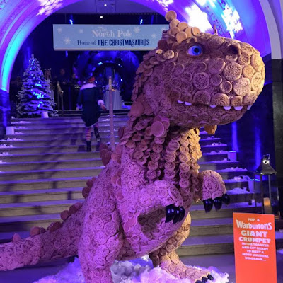 OMGiantCrumpets weve created the worlds first dinosaur made entirely from GiantC