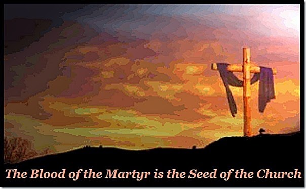 Martyrs' Blood is Church's Seed