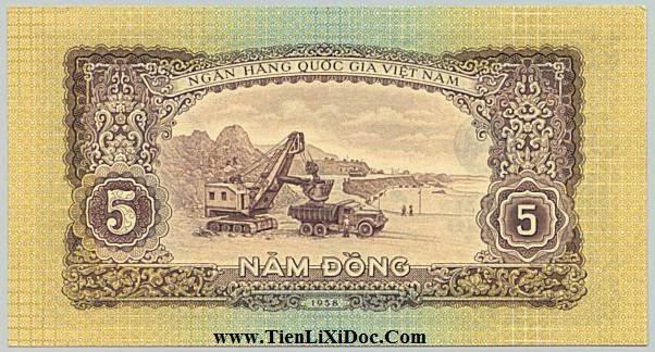 5 Đồng (Việt nam dân chủ 1958)
