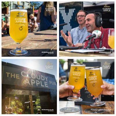 The Strongbow Cloudy Apple Pub with RadioX toured across the country this