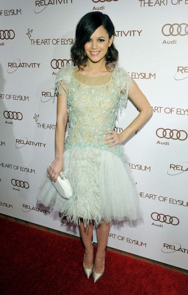 Rachel Bilson arrives at the 2012 Art of Elysium Heaven Gala