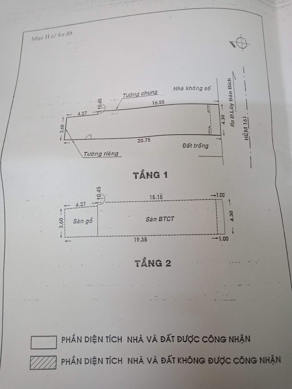 Bán nhà hẻm một sẹc Lũy Bán Bích Quận Tân Phú - 6