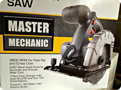 master mechanic saw