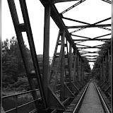 alte Eisenbahnbrücke über den Oder-Havel-Kanal