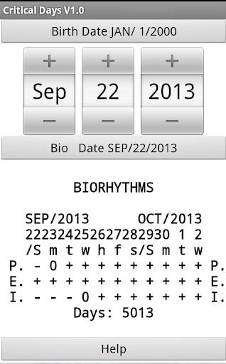 BioCriticalDays
