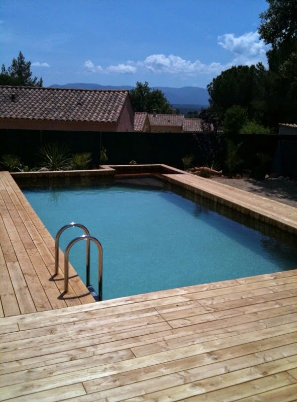 nos piscines bois hors sol piscine bois modern pool france. Black Bedroom Furniture Sets. Home Design Ideas