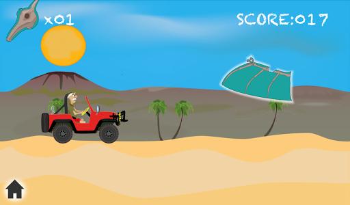 玩免費冒險APP 下載子供の車での恐竜パズル app不用錢 硬是要APP