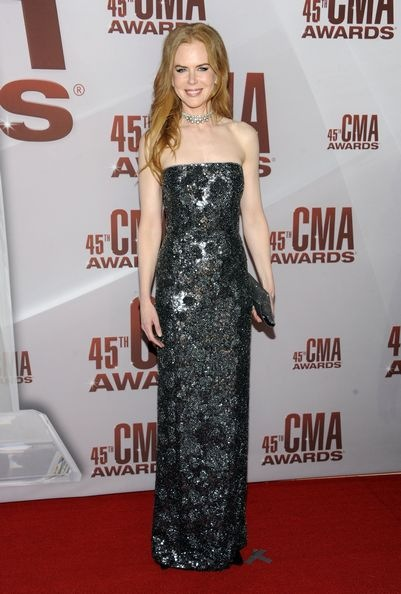 Nicole Kidman 45th Annual CMA Awards Arrivals