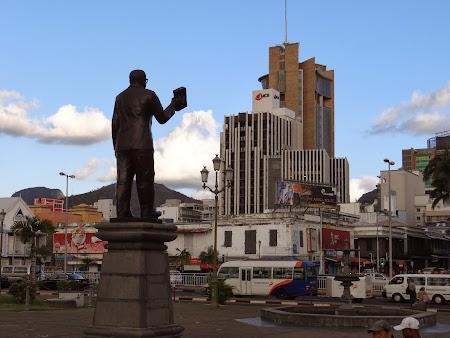 Obiective turistice Mauritius: Centru Port Louis