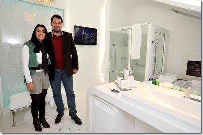 cbfd3f83a928 A jovem arquiteta Viviane Granemann Ribeiro estreou com pé direito e foi  agraciada com o prêmio Destaque Banheiro por seu projeto ousado e  consciente, ...