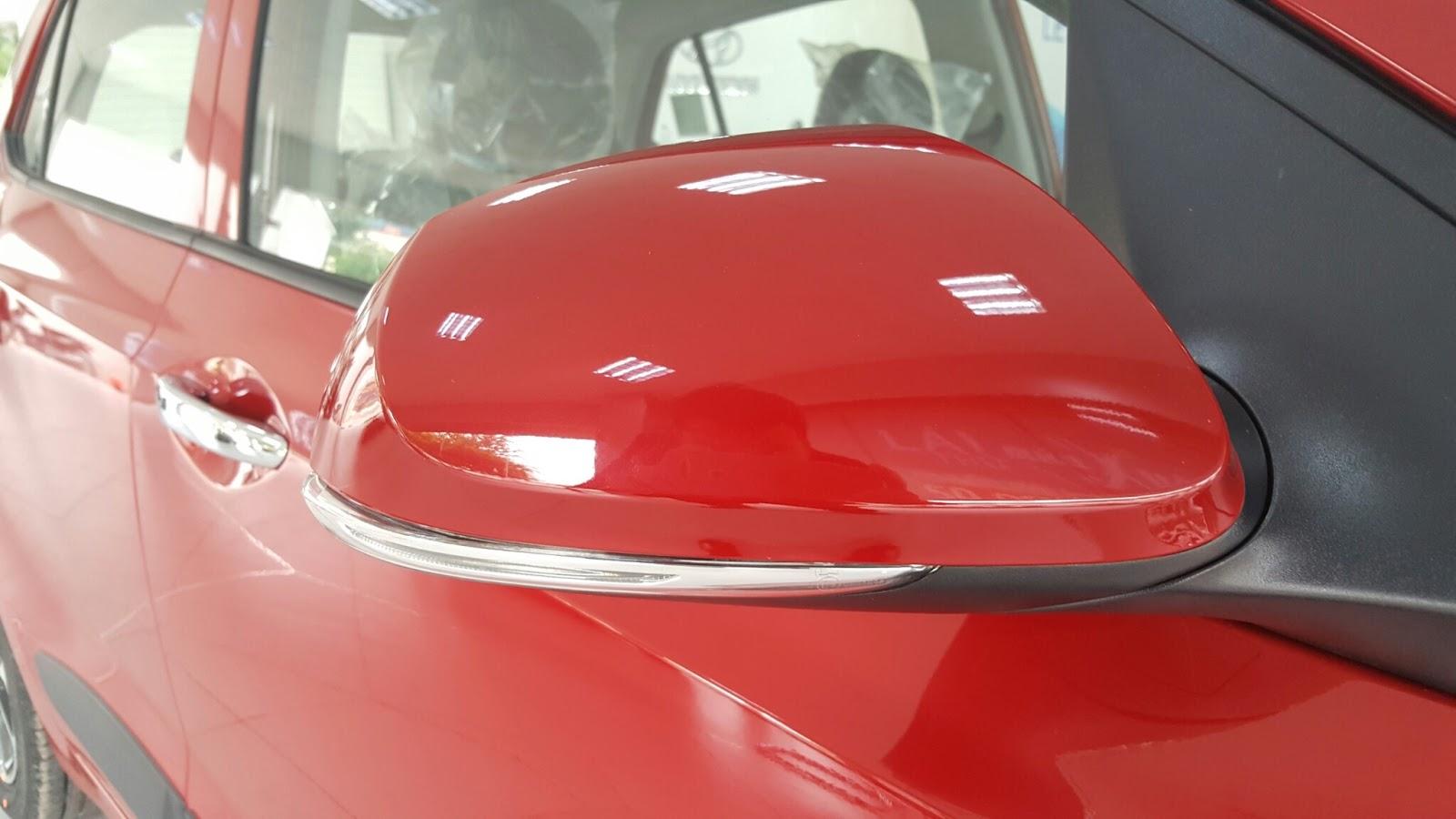 Xe ô tô Hyundai Grand i10 Nhập Khẩu màu đỏ 04
