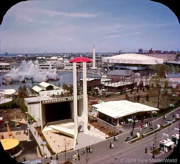 View-Master New York World's Fair 1964-1965 (A671),Scene 11 Industrial Area from the Better Living Pavilion