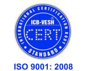 iso 9001 2008 icb vesh