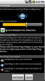 HearPlugs Lite- screenshot thumbnail