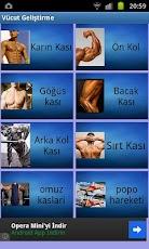 Cep Vücut Geliştirme Programı Resimler