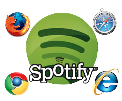 Spotify web version