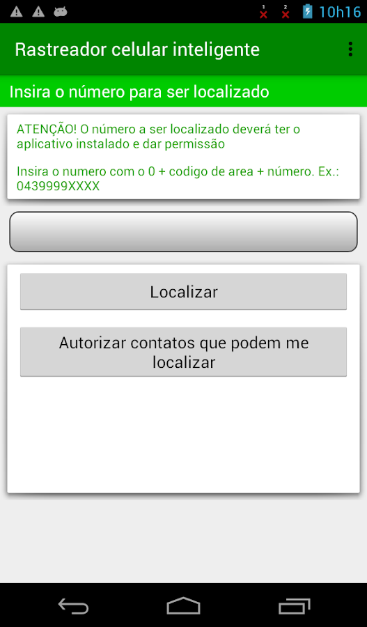 Rastreador celular Inteligente- screenshot