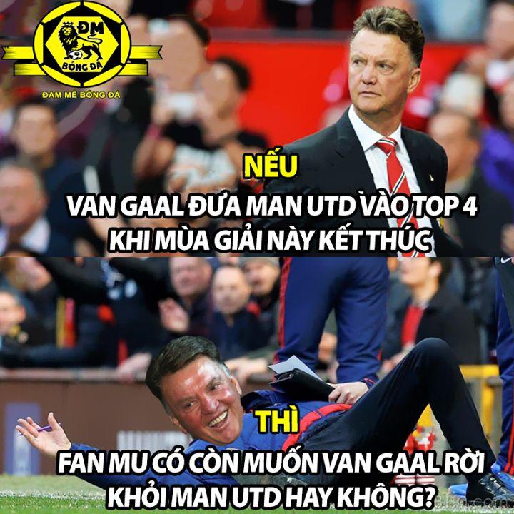 Sẽ thế nào nếu hết mùa giải này Van Gaal tiếp tục