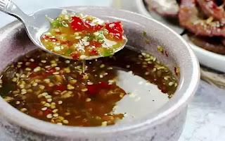 Cách pha nước chấm tỏi ớt