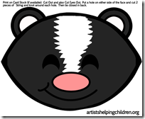 skunks-masks-printables