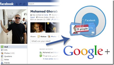 Migrate from Facebook to Google+
