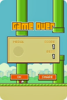 skor rendah flappy bird