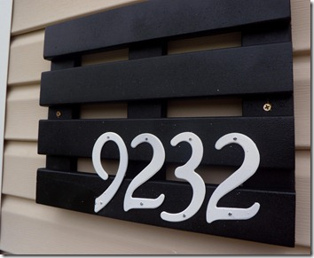 #address #plaque #diy #easy