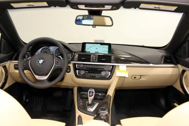 Nội thất xe BMW 420i Convertible new model 01