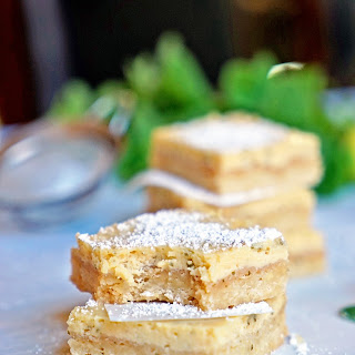 Cuban Mojito Shortbread Bars
