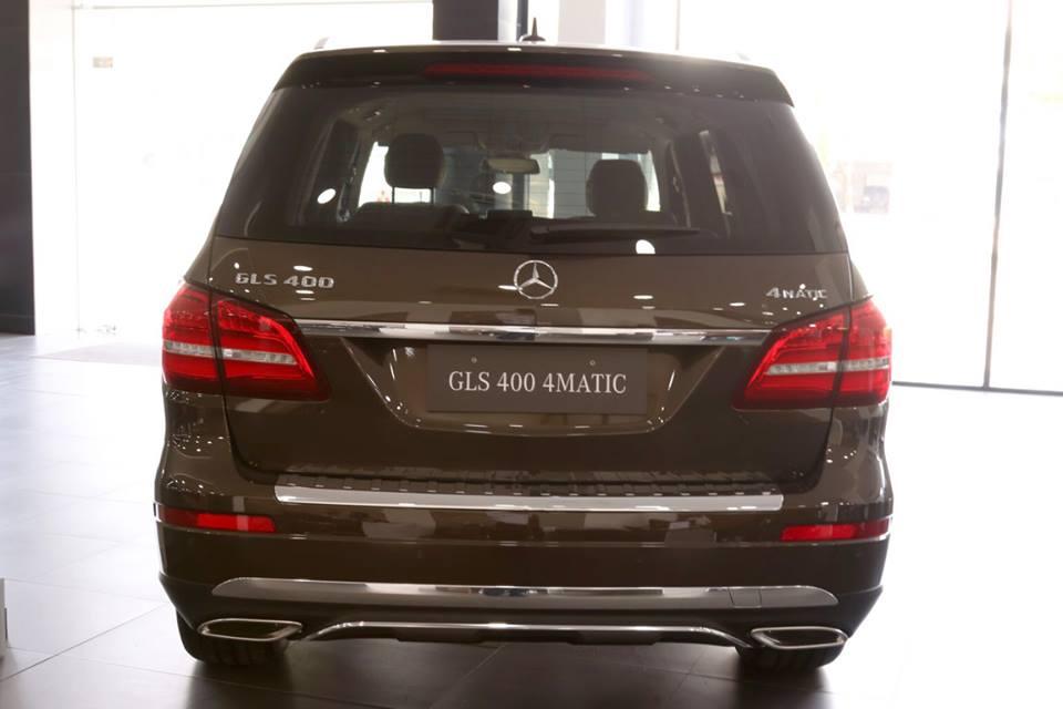 xe Mercedes Benz GLS 400 thế hệ mới 010