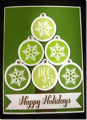 Christmas Card Making Day - by Nickie Hoffer-