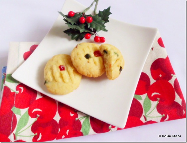 Fruit Cookies cherry cookie recipe