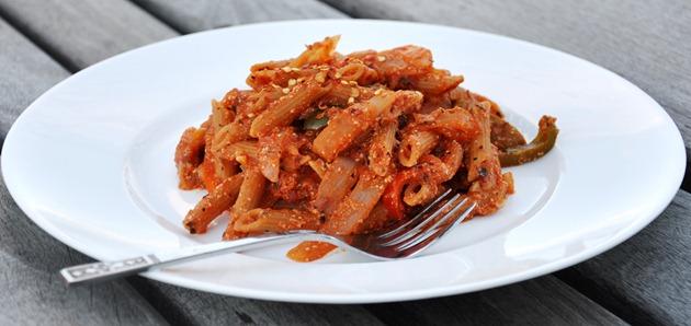 bell pepper ricotta cheese pasta