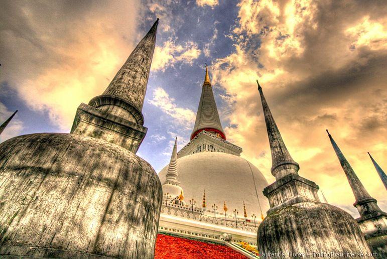 Wat Phra Mahathat Chedi Nakhon Si Thammarat Thailand