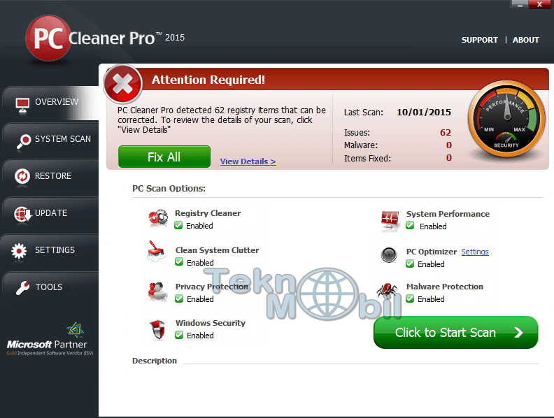 PC Cleaner Pro 2016 v14.0.16.5.19 Full İndir